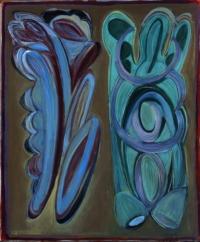 Anne-Marie Pécheur Artiste Peinture et Lumière Bouturrge LesBouquets 2005-512