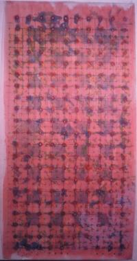Anne-Marie Pécheur Artiste Peinture et Lumière Calque 1979