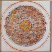 Anne-Marie Pécheur Artiste Peinture et Lumière Perspective avec oeil 2004-506