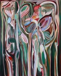 Anne-Marie Pécheur Artiste Peinture et Lumière 10 162x130cm - 2019